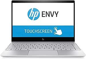 "HP Envy 13 13"" Touchscreen WLED-backlit IPS 4K Ultra HD (3840 x 2160) Display Intel i7-8550U 16GB RAM 512GB SSD 2GB NVIDIA GeForce MX150"
