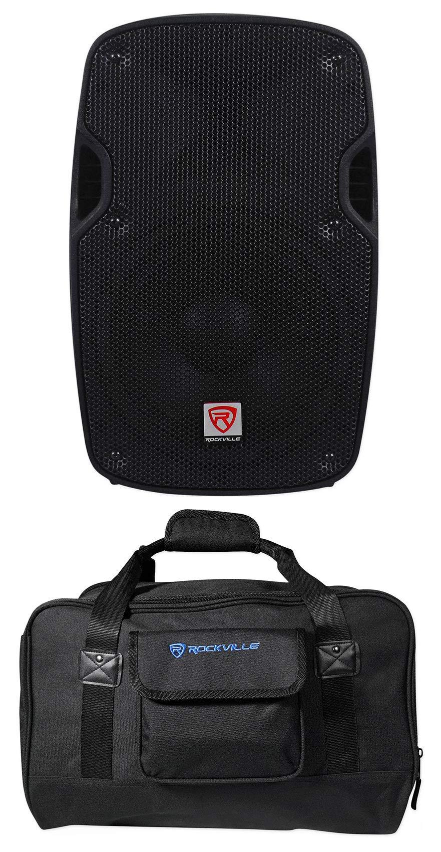Rockville SPG88 8'' Inch Passive 400w DJ PA Speaker ABS Lightweight Cabinet 8 Ohm by Rockville