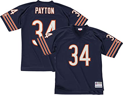 new arrival e7e9e 4eea0 Mitchell & Ness Walter Payton Chicago Bears Dark Navy Throwback Jersey