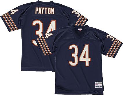 new arrival 4b156 31721 Mitchell & Ness Walter Payton Chicago Bears Dark Navy Throwback Jersey