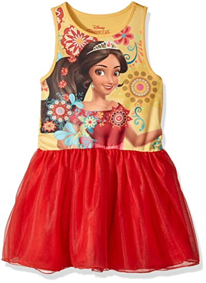 Disney Elena Of Avalor Vestido De Volantes Para Niña Rojo