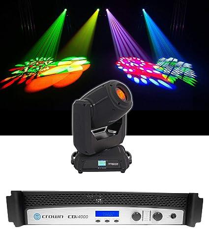 Amazon.com: Crown CDi4000 - Amplificador de 2 Ch y 1200 W ...