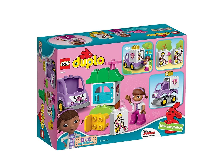Amazoncom Lego Duplo Dock Of Toy Doctor Ambulance Rosie 10605