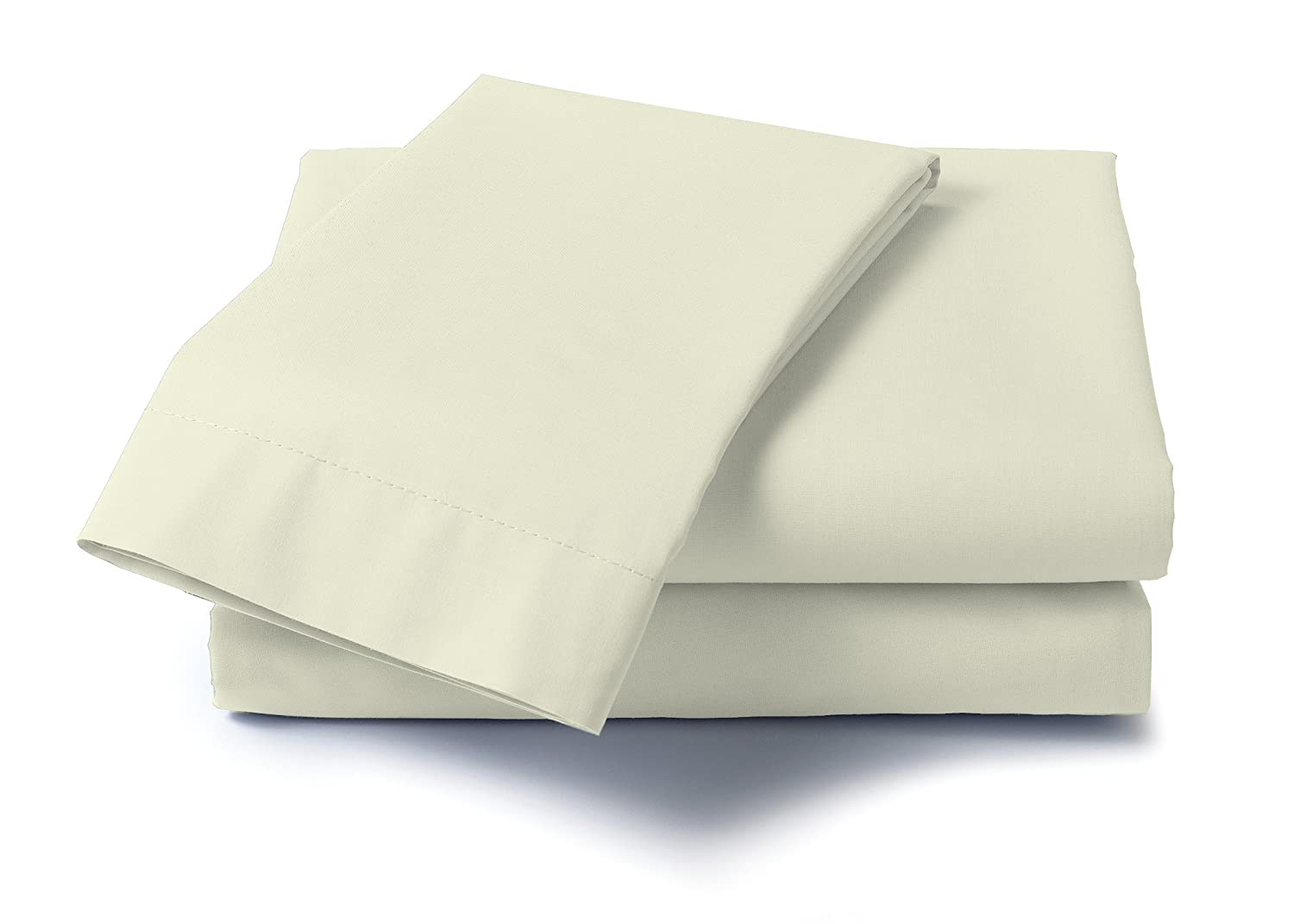 White 21210 Dreamz 400 Thread Count Specialty Sheet Set for King Size Memory Foam Mattress