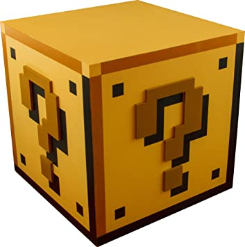 Super Mario Bros Lampe Bloc 18 Cm Terminal Video Amazon Fr