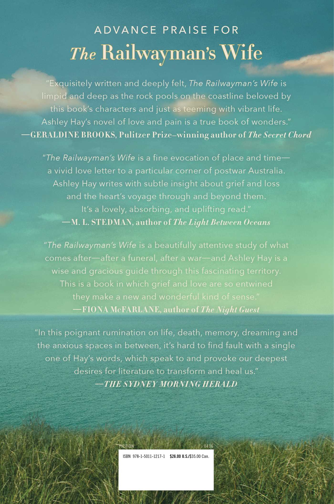 Amazon: The Railwayman's Wife: A Novel (9781501112171): Ashley Hay:  Books