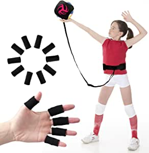 Volleyball Training Equipment Aid - Practice Your Serving, Setting & Spiking with Ease, Great Solo Serve & Spike Trainer for Beginners & Pro, Perfect Volleyball Gift, Choose The Right Bundle for You