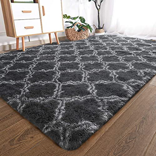 YOH UItra Soft Fluffy Bedroom Rug