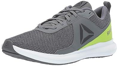 4c87afd0c10 Reebok Men s DRIFTIUM Running Shoe Alloy neon Lime White Pewter True Grey