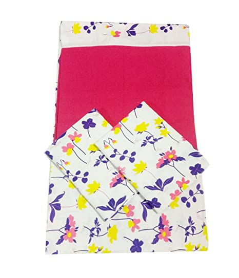 Buy KARUR SS STOCKS KING SIZE COTTON SET WITH 2 PILLOW COVERS WITH
