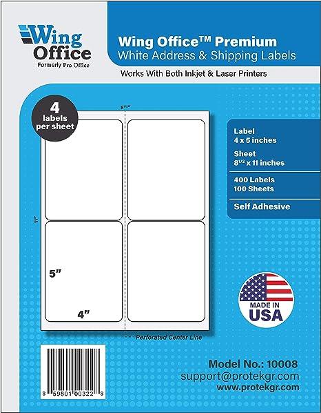 Amazon.com: Pro Office Etiquetas de envío ...
