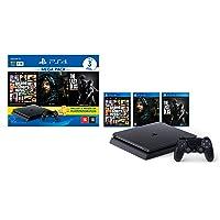 Console PlayStation 4 1TB Bundle Hits 9 - GTA V, Death Stranding, The Last Of Us - PlayStation 4