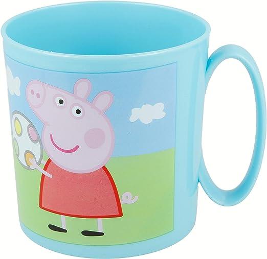 Stor Peppa Pig | Taza para niños y niñas con diseño de Personajes ...
