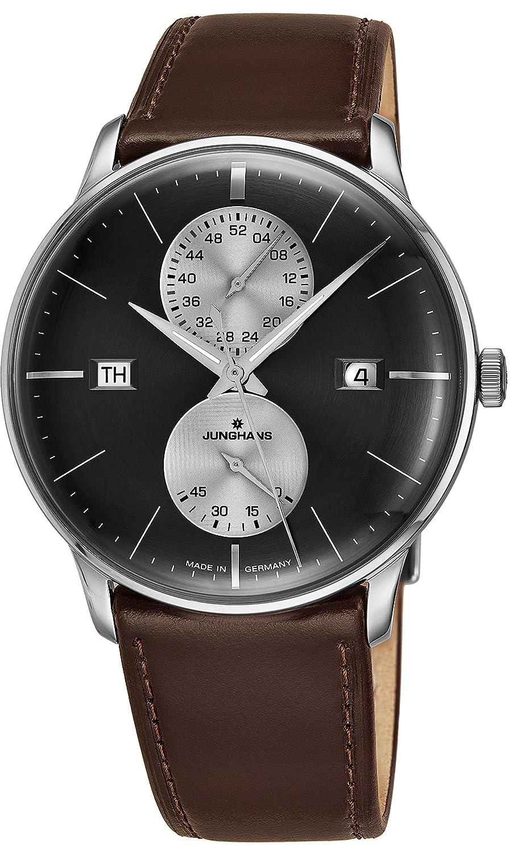 Junghans Meister Reloj para Hombre Agenda Sunray Gris ...