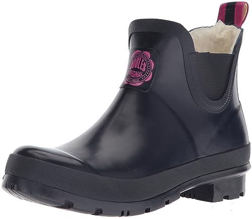 Joules Women\u0027s Wellibob Rain Boot, French Navy,