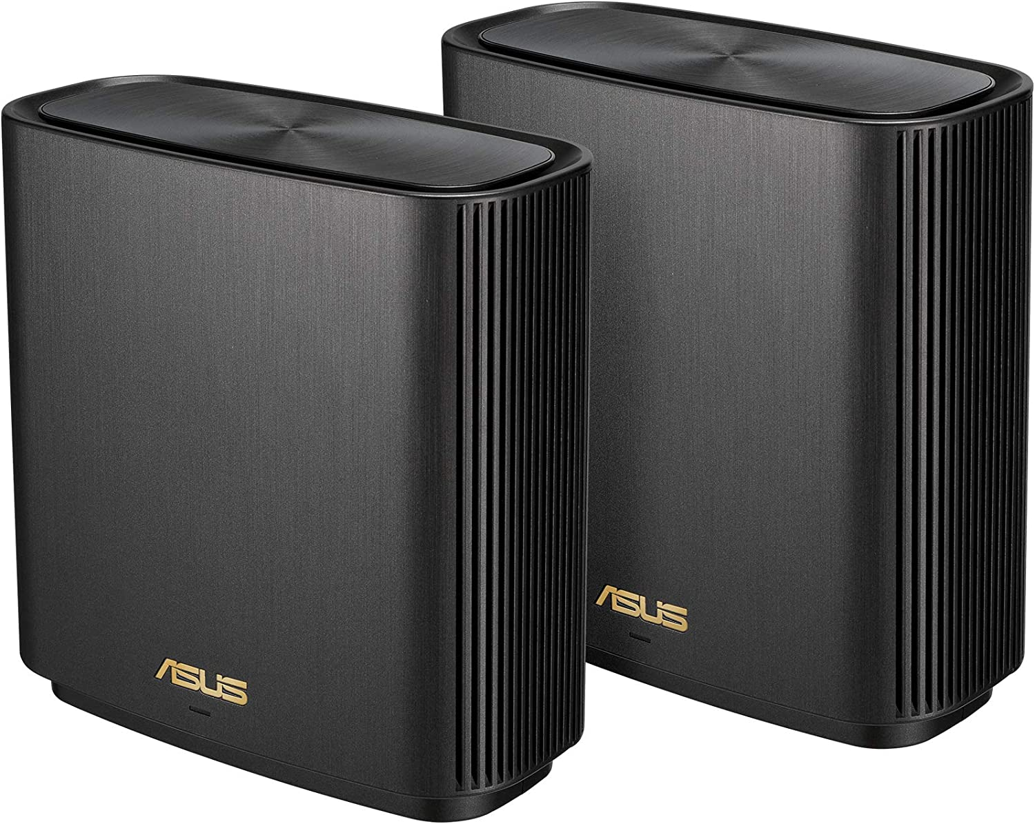 ASUS ZenWiFi AX Whole-Home Tri-Band Mesh WiFi 6 System (XT8) - 2 Pack, Coverage up to 5,500 sq.ft or 6+Rooms, 6.6Gbps, WiFi, 3 SSIDs, Life-time Free Network Security and Parental Controls, 2.5G Port