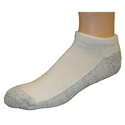 Cushees Thick Mini Socks, Grey Bottom 3-pack (162)