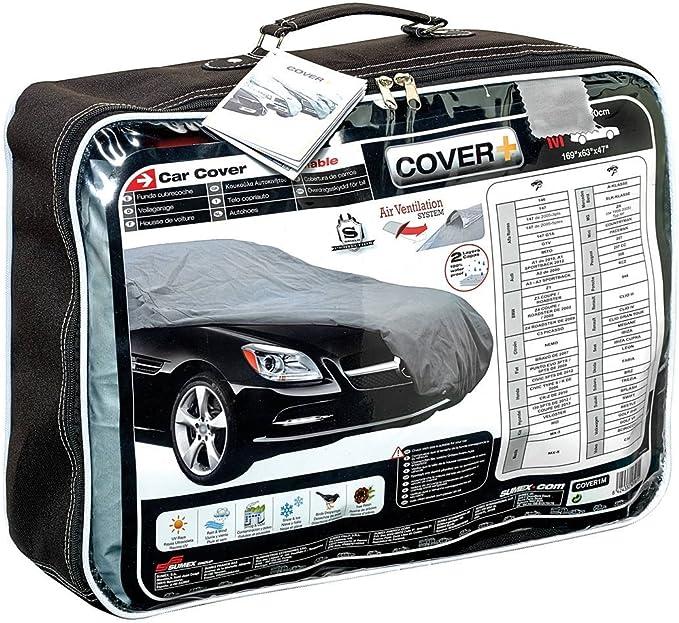 AUDI A3 2003-2012 Calidad de la cubierta impermeable para coche lujo Forrado De Algodón Pesado deber