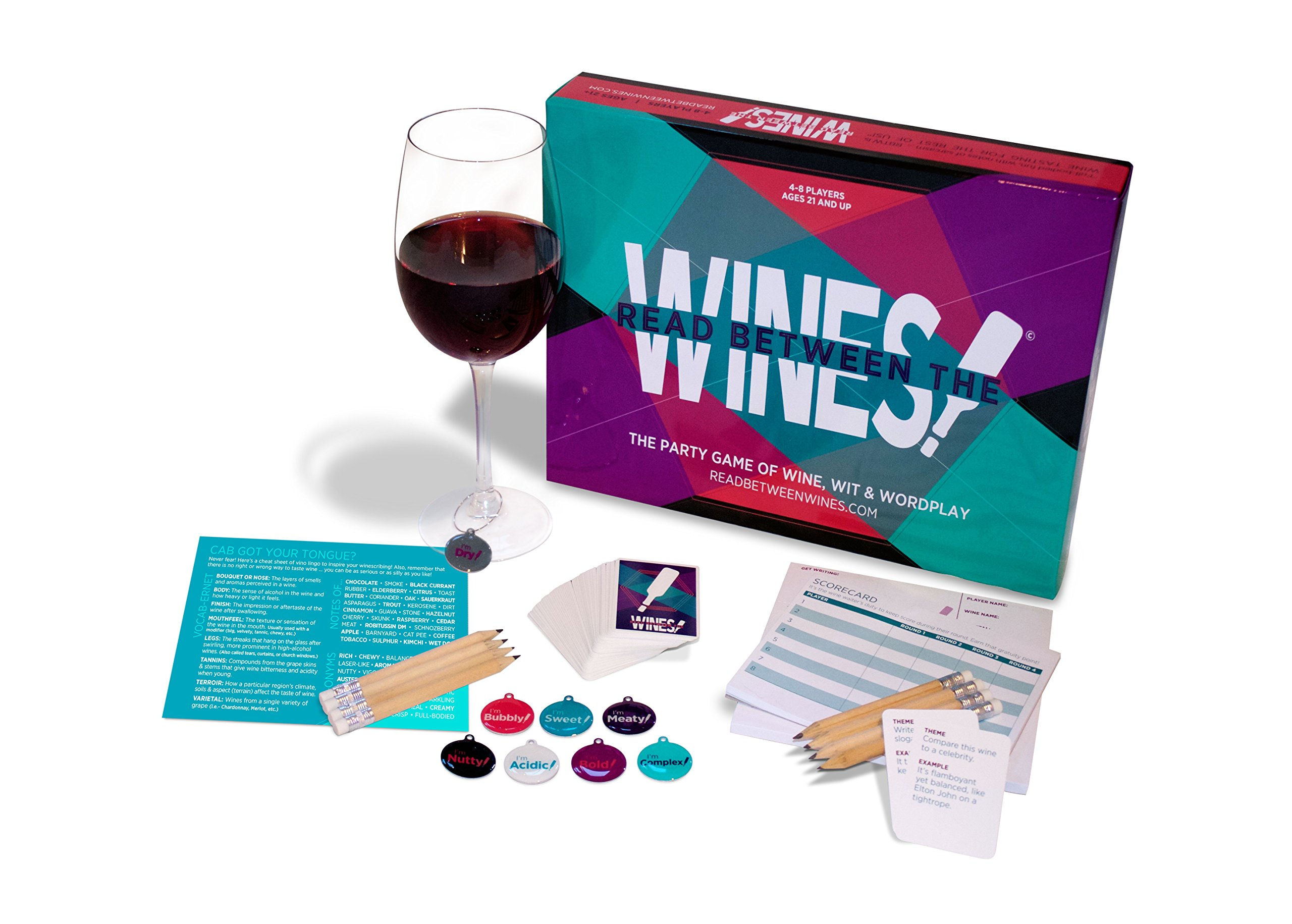 Read Between The Wines! The Party Game Of Wine Wit & Wordplay 10