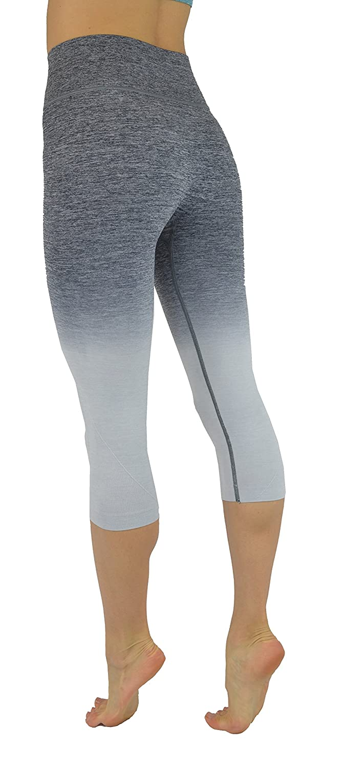 1dba30a3c1 KVKSEA Women's Flexible Yoga Pants Ombre Leggings Activewaer L704 XS-3X  larger image