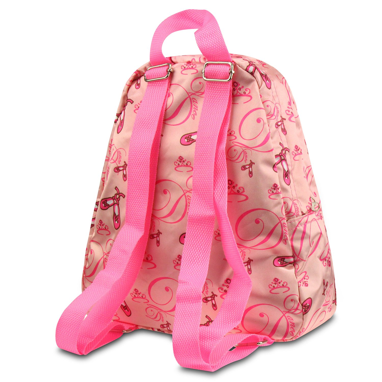 Green//Pink Paisley Zodaca Kids Small Backpack