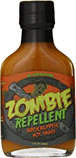 product image for Original Juan Zombie Repellent Apocalyptic Hot Sauce, 3.75 Ounce - PACK OF 2