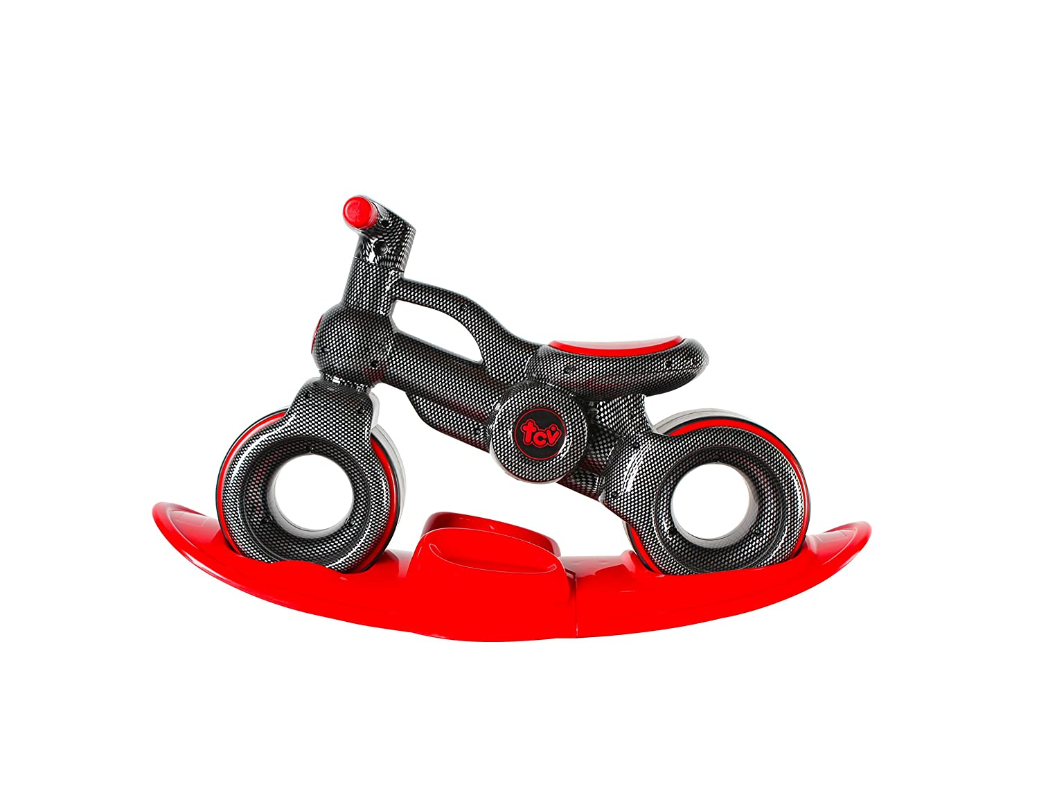 MIGOTOYS TCV-V100R 2 in 1 Baby Rider Balance Bike and Rocker Board Black Made in Taiwan