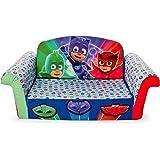 Marshmallow Furniture   Childrenu0027s 2 In 1 Flip Open Foam Sofa, PJ Masks Flip  Open