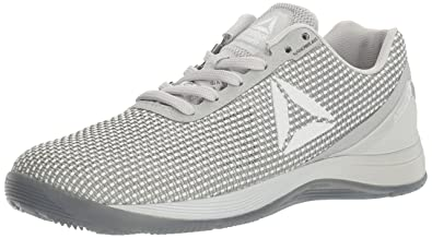 hot sale online 0c50c 8b315 Reebok Women s CROSSFIT Nano 7.0 Cross-Trainer Shoe, White Skull Grey Black