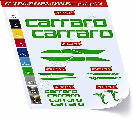 Pegatinas Bicicleta Carraro – Kit 2- Kit Pegatinas Stickers 14 ...