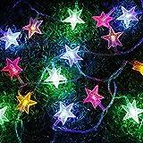 PragAart String Light, 3.5m/12ft Fairy 20 Led Stars Outdoor/Indoor Rope Lights for Christmas Tree, Diwali, Wedding, Birthday Party, Baby's Bedroom, Garden