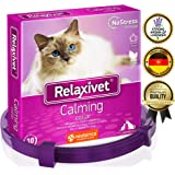 Relaxivet Calming Collar for Cats and Small Dogs - Reduce Anxiety Your Pets - The Best for Calming Chews Treats Drops Plug in