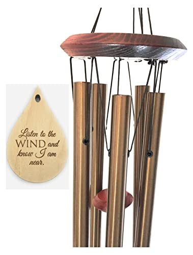 U0026quot;In Loving Memoryu0026quot; Memorial TOP Rated Wind Chime Teardrop PRIME  Rush Shipping For