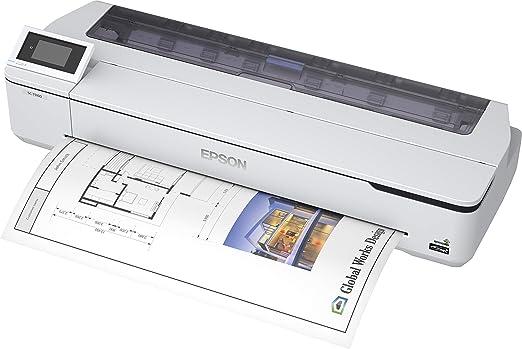 Epson SureColor SC-T5100N - Impresora de Gran Formato, Color ...