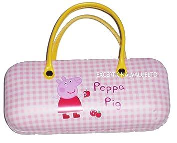 New Peppa Pig Sunglasses Glasses Hard Case Pink Peppa Pig Free Uk