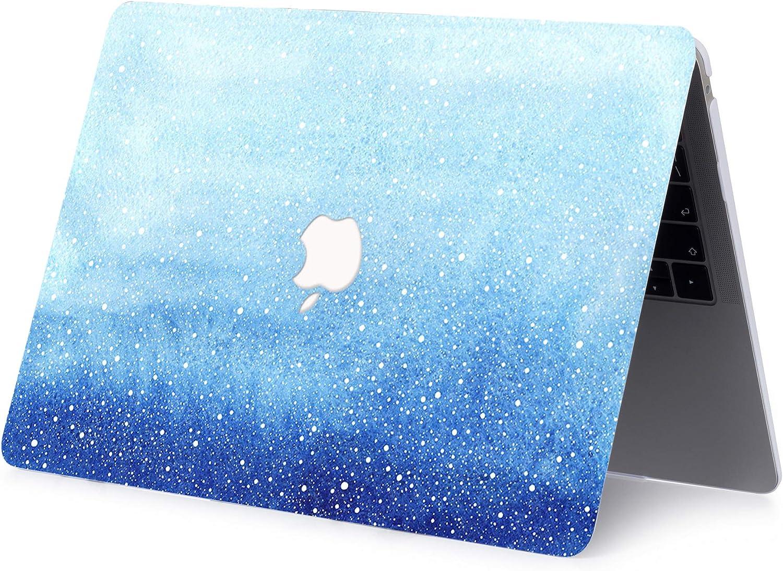 Plastik Schutzh/ülle /& Tastaturschutz f/ür MacBook Pro 13 Schneeflocke AJYX H/ülle f/ür MacBook Pro 13 Zoll 2020 2019 2018 2017 2016 Release A2289 A2251 A2159 A1989 A1706 A1708