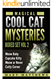 Magical Cool Cats Mysteries Boxed Set Vol 2(Books 4,5,6 & 7)