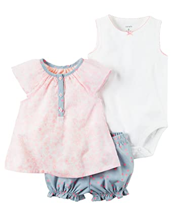 b9e560adf Image Unavailable. Image not available for. Color: William Carter Baby Girl  Clothes ...