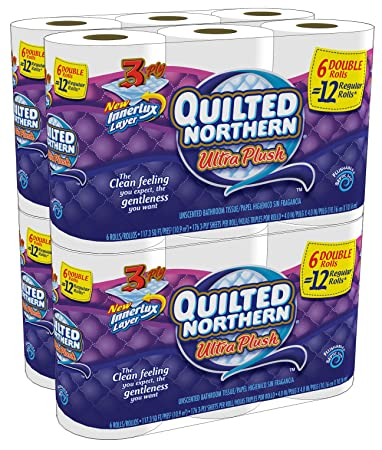 Quilted Northern Ultra Plush Double Rolls 24 Count
