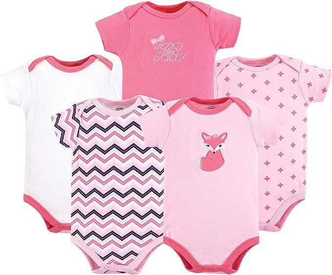 Luvable Friends Body (Pack de 5) Unisex bebé: Amazon.es: Ropa y ...