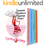 The Summer Meadows Christian Cozy Mystery Series, Volumes 1-4