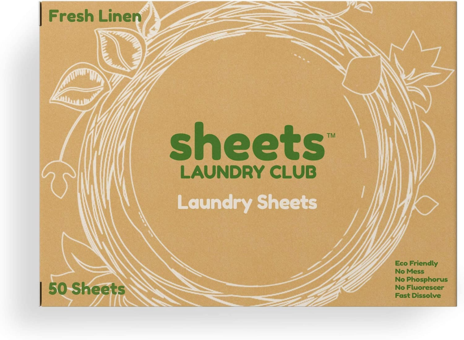 SHEETS LAUNDRY CLUB On-the-go Detergent