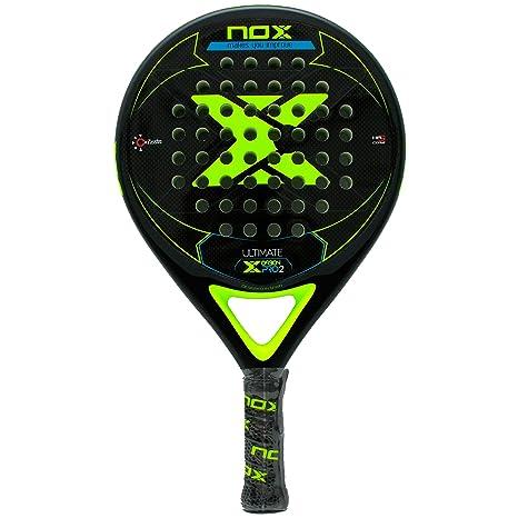 Pala pádel Nox Ultimate Carbon Pro 2 Yellow: Amazon.es: Deportes y ...
