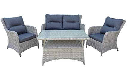 Amazonde Rattan Lounge Westminster Garten Sitzgruppe In And Out