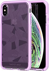 tech21 Evo Edge Phone Case with 12ft Drop Protection for Apple iPhone Xs Max - Orchid