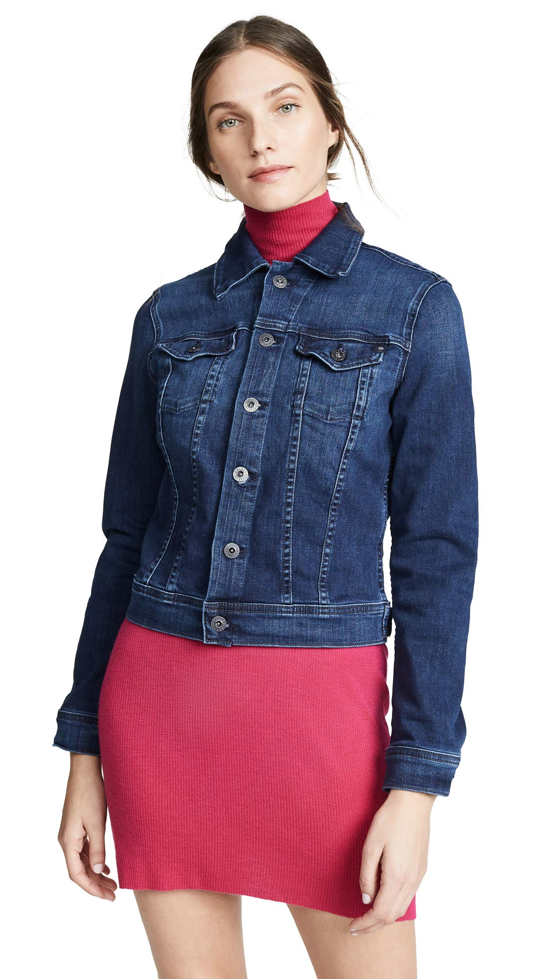AG Adriano Goldschmied Women's Robyn Jacket, Pinnacle Blue, Small
