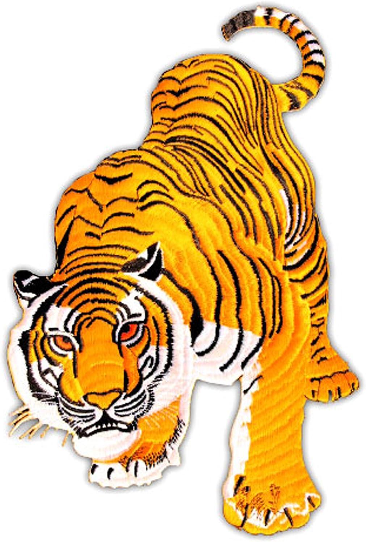 Patch Tiger Amarillo Parche con Plancha Applikation tamaño Medium ...