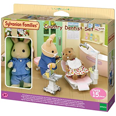 Sylvanian Families - Country Dentist Set: Toys & Games