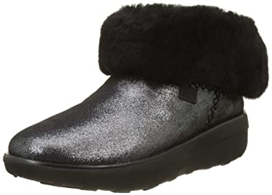 d7d65c2d0 Fitflop Women s Mukluk Shorty 2 Shimmer Boots Ankle  Amazon.co.uk ...