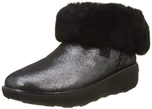 48c31043bcac0 Fitflop Women s Mukluk Shorty 2 Shimmer Boots Ankle  Amazon.co.uk ...